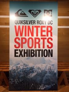 2015-2016スノーボード QUIKSILVER、ROXY、DC展示会行ってきました!!