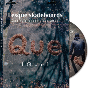 Lesque Skateboards 2nd Full-length DVD入荷しました!!