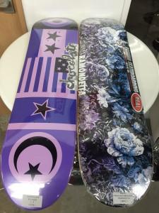 スケートボードアイテム CHOCOLATE、REAL、CLICHE、VENTURE、SPITFIRE入荷しました!!