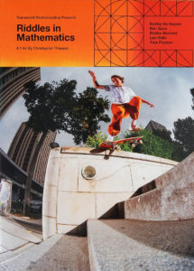 Transworld Skateboarding最新2作品同時リリース!!「Riddles in Mathematics」&「The Cinematographer Project」入荷しました!!