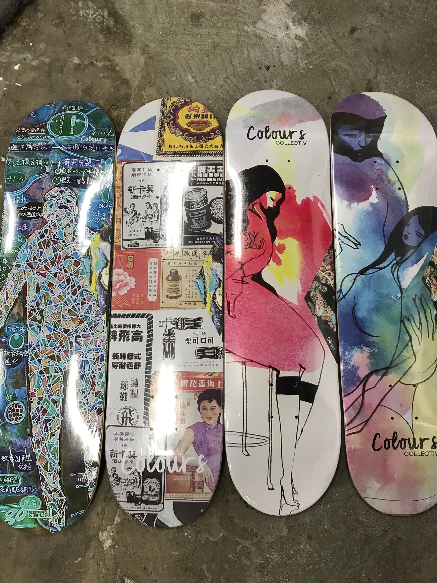 スケートアイテム COLOURS Skateboards入荷しました!!