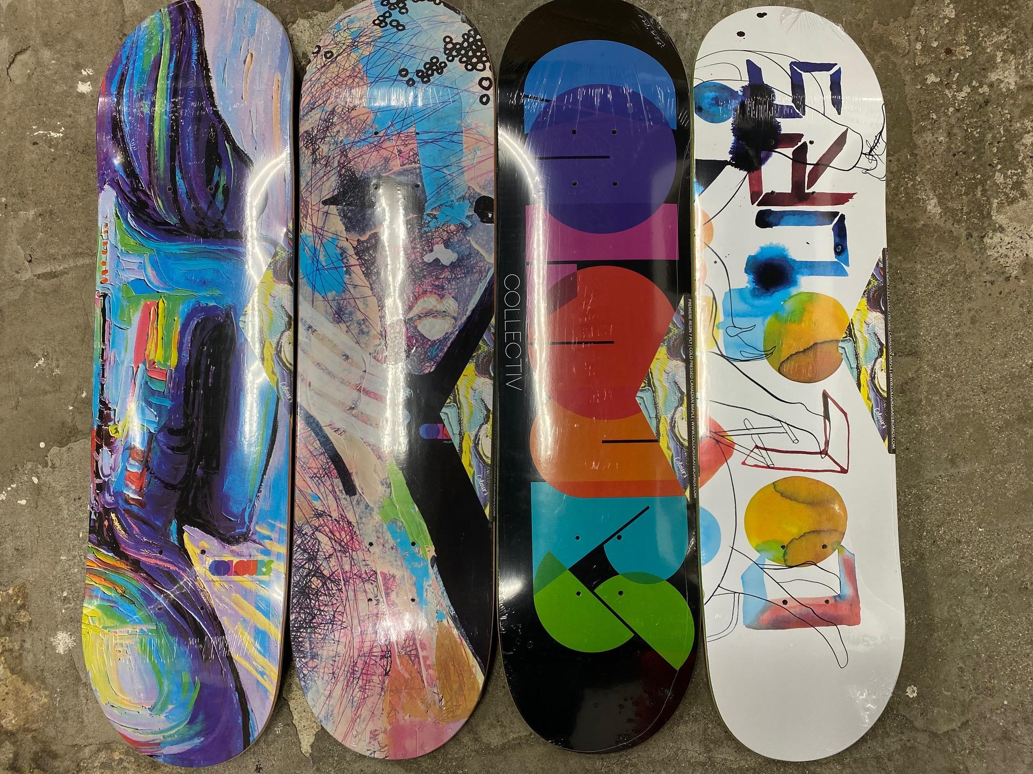 スケートアイテム COLOURS Skateboards 2020Spring & FILMBOT Kids コンプリート 入荷しました!!