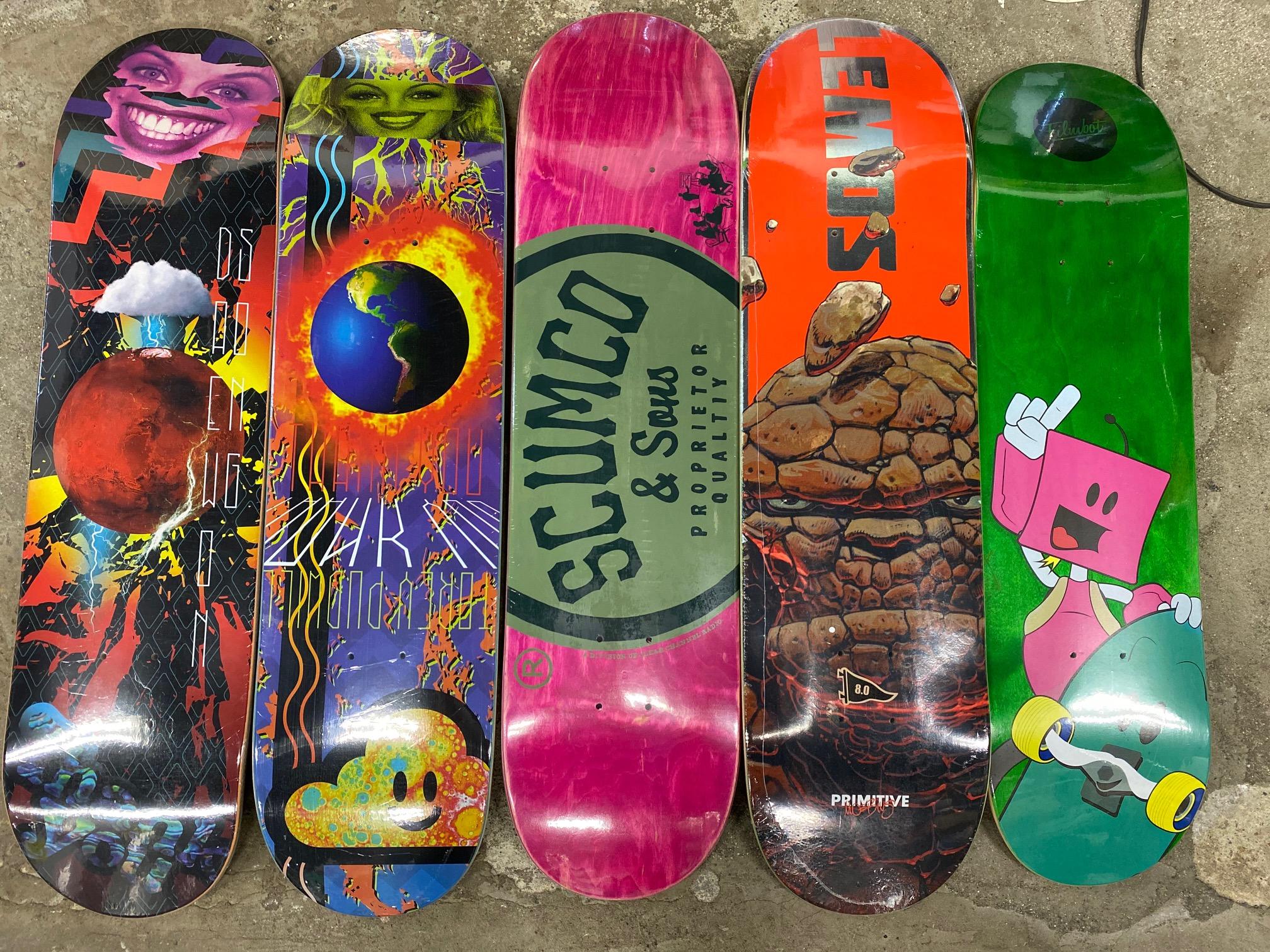 スケートアイテム Thank You skateboards、PRIMITIVE skateboards、SCUMCO&SONS、FILMBOT 入荷しました!!