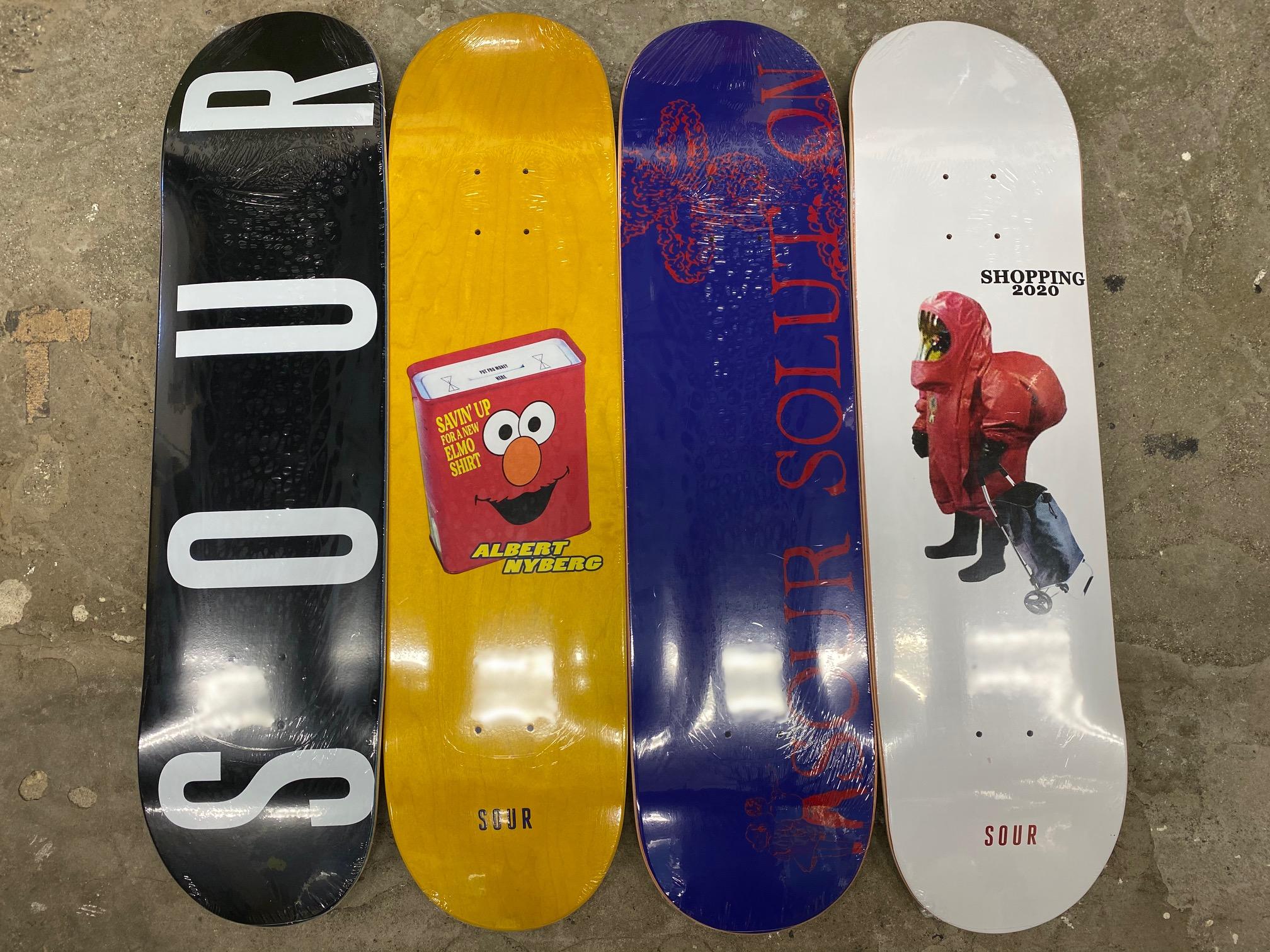 スケートアイテム SOUR 2020FALL入荷しました!!