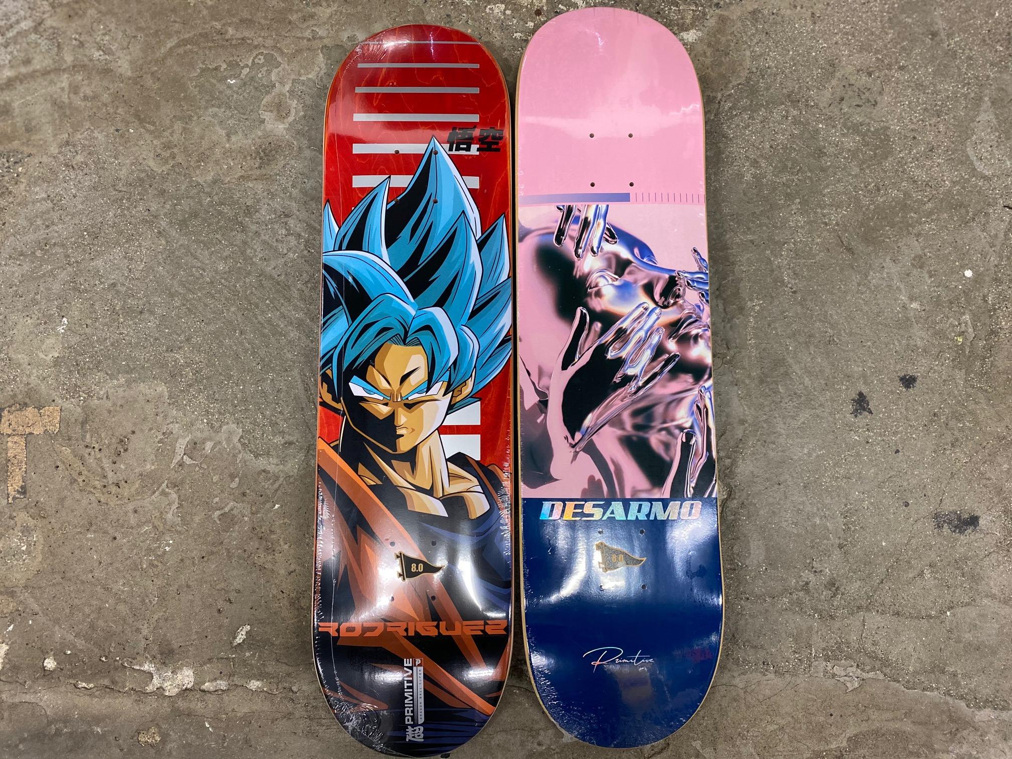 スケートアイテム PRIMITIVE × DRAGONBALL SUPER 激レアコラボアイテム & PRIMITIVE skateboards入荷しました!!