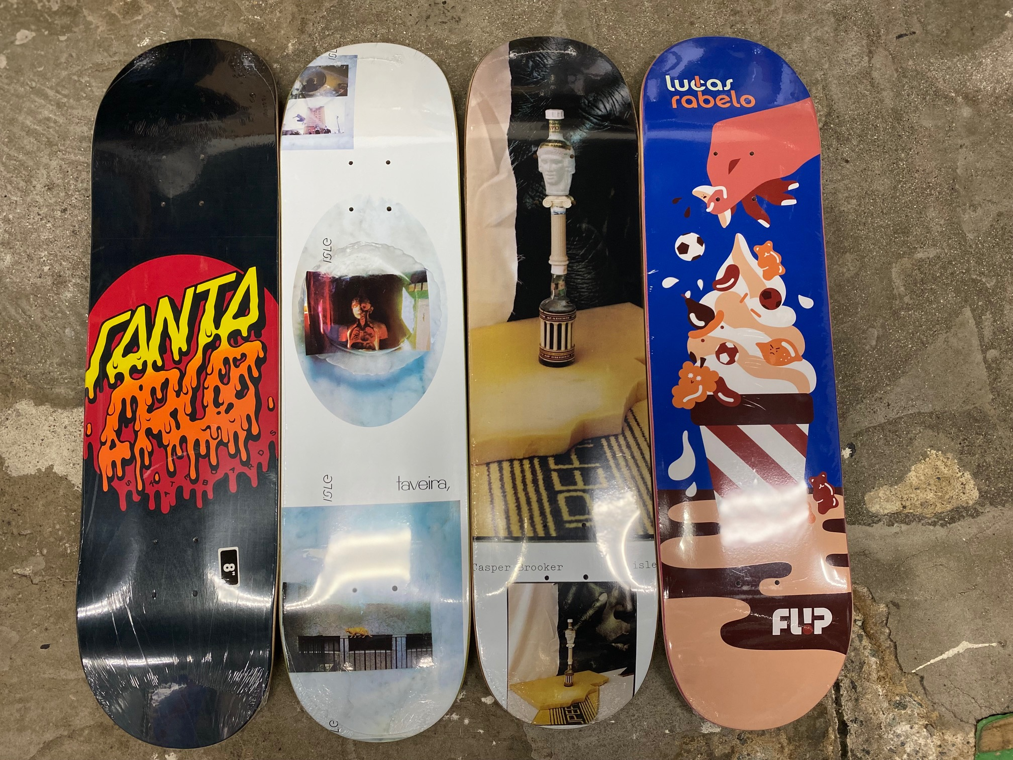 スケートアイテム SANTACRUZ、ISLE、FLIP入荷しました!!